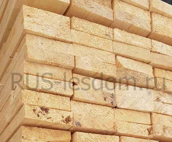 Доска обрезная 50х150х6000 цена за куб