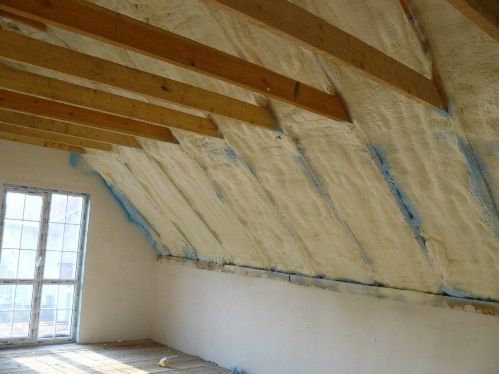 утепление мансарды изнутри если крыша металлическая